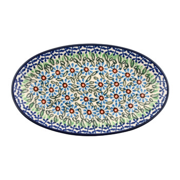 Oval Dish - Meadow