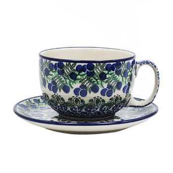 Breakfast Cup & Saucer - Myrtille