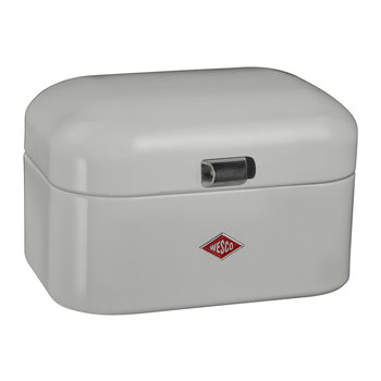 Single Grandy Bread Bin - Cool Grey