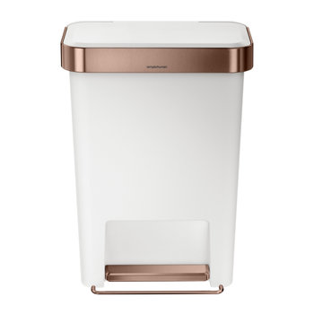 White Kitchen Bin kitchen bins | designer kitchen accessories - amara