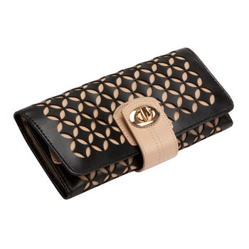 Chloe Jewellery Roll - Black