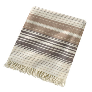 5th Avenue Throw - Neutral Stripe