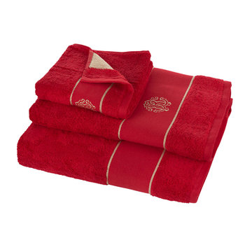 Gold Towel - Red