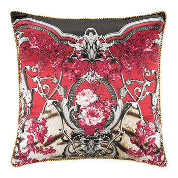 Savage Silk Bed Cushion - Red