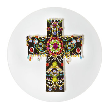 Love Who You Want - Assiette « Croix Noire »