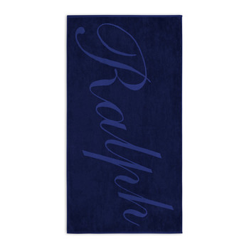 'Ralph' Beach Towel - Navy
