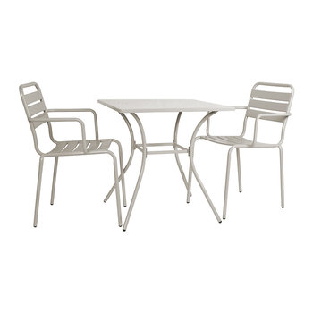 Dean Street Set of 2 Chairs & Table - Clay