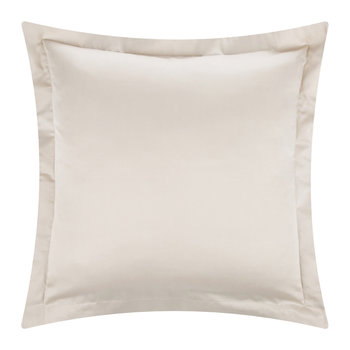 Cotton Sateen 300 Thread Count Pillowcase - Gold - Square