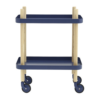 Block Table - Dark Blue