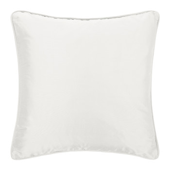 Pure Silk Cushion - 45x45cm - White