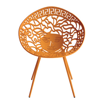 Mesedia Chair - Metallic Orange