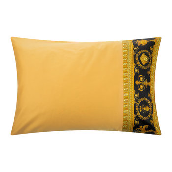 Barocco&Robe Pillowcase Pair - Gold/Black