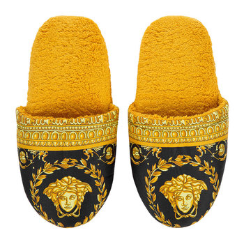 Barocco&Robe Slippers - Gold/Black
