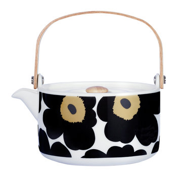 Unikko Teapot - White/Black/Green