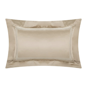 Three Lines Pillowcase - Set of 2 - 50x75cm - Bronze