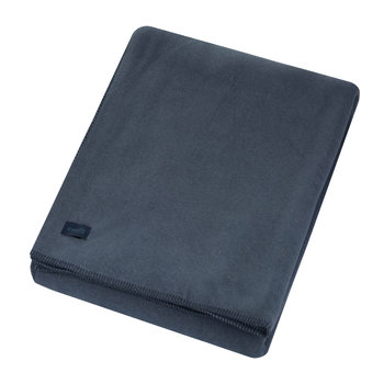 Large Soft Fleece Blanket - Indigo