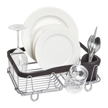Sinkin Dish Rack - Black/Natural