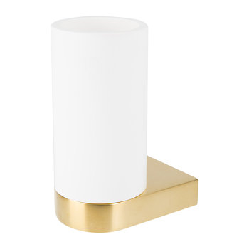 Century WMG Wall-Mounted Tumbler - Stone/Matt Gold
