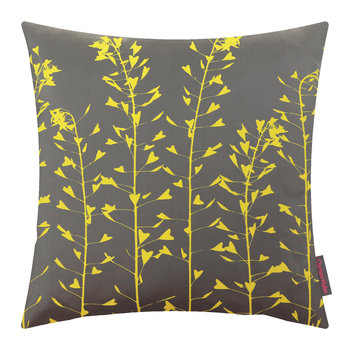 Heart Grasses Cushion - 45x45cm - Storm/Sulphur