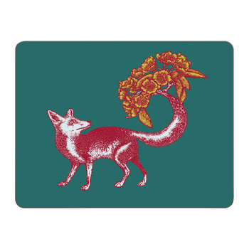 Puddin' Head - Animal Table Mat - Fox