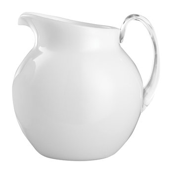 Palla Acrylic Pitcher - White