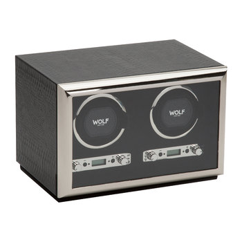 Exotic Double Watch Winder - Black