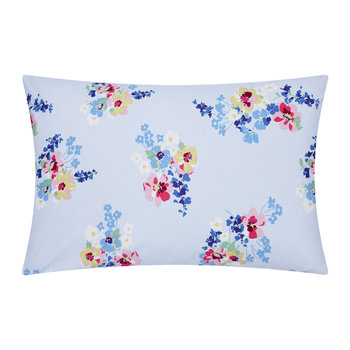 Painted Posy Pillowcase - 50x75cm