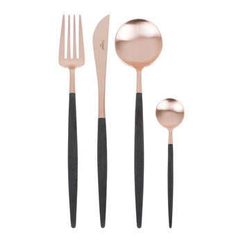 Goa Flatware Set - 24 Piece - Rose Gold