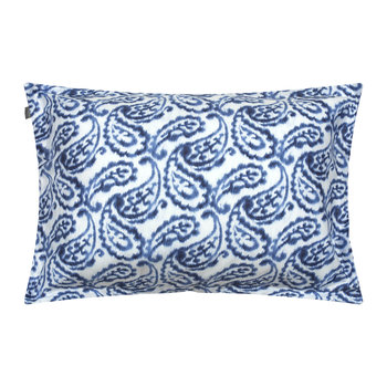 Wasco Paisley Pillowcase - Sateen Blue - 50x75cm