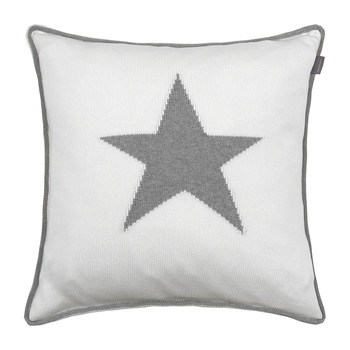 Starstruck Knit Cushion - 50x50cm - Grey