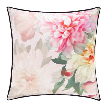 Painted Posie Bed Pillow - 45x45cm