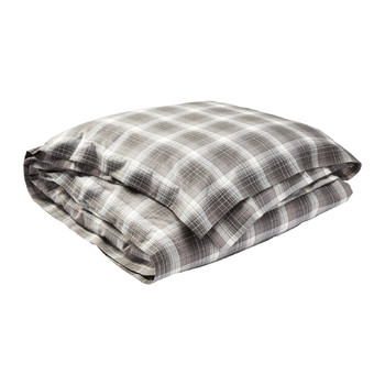 Jackson Duvet Cover - Gray