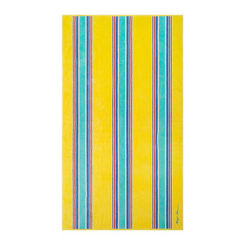 Sag Harbor Stripe Beach Towel - 92x170cm - Yellow