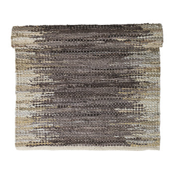 Weave Runner Rug - 70x140cm - Natural/Brown