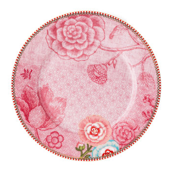 Spring To Life Salad Plate - Pink
