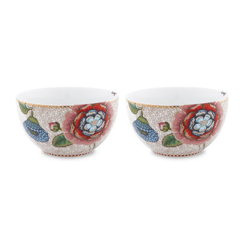 Spring To Life Bowls - Set of 2 - Cream