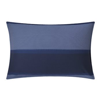 Banded Net Pillowcase - Navy - 50x75cm