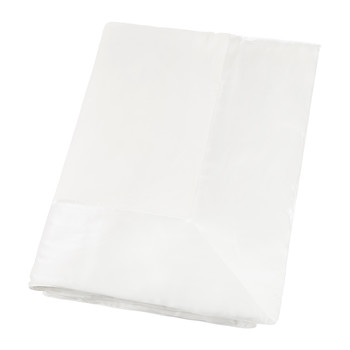 Washington Square Silk & Velvet Throw - White