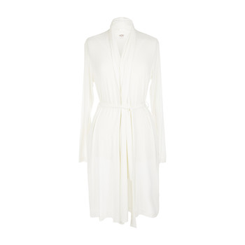 Women's Birgette Bathrobe - Antique White