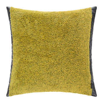 Crush Cushion - 50x50cm - Mustard