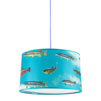 Small Toiletpaper Lamp Shade - Fish