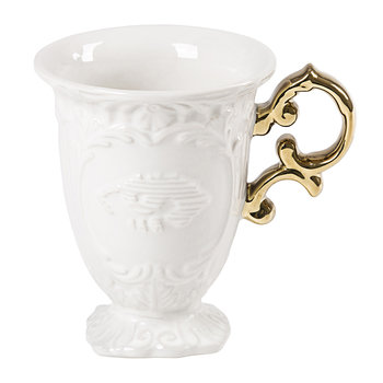 I-Wares Porcelain Mug - Gold