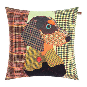 Franz the Dachshund Cushion - 50x50cm