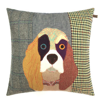 Muriel the Spaniel Pillow - 50x50cm