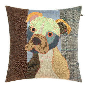 Simon the Staffie Cushion - 50x50cm