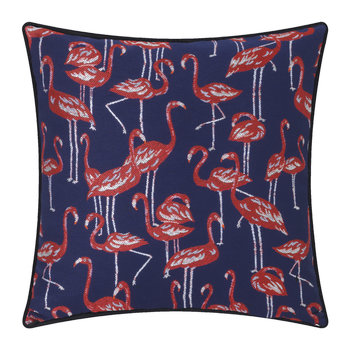 Salon Pillow - Flamingo - 40x40cm