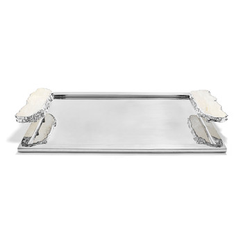 Heritage Tray - Large - Crystal