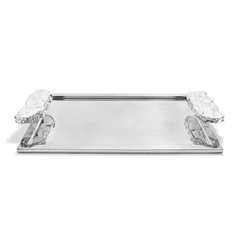 Heritage Tray - Large - Silver