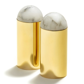 Amare Salt & Pepper Set - Gold