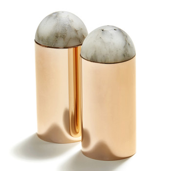 Amare Salt & Pepper Set - Rose Gold